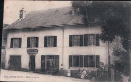 BELLEFONTAINE Hôtel Du Jura (1907) - Frankrijk