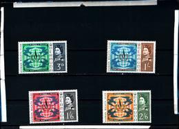 6625B) Bermuda 1968 SG#1212-5 Anno Dei Diritti Umani-MNH** - Bermuda