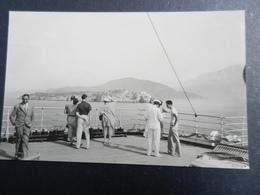 19971) MONTENEGRO BOCCHE DI CATTARO VISTE A BORDO DELLA NAVE NON VIAGGIATA FOTOCARTOLINA PRIVATA - Montenegro