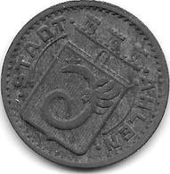 *notgeld  Ahlen 50 Pfennig 1917   Zn  104.2 /F6.2 - [ 2] 1871-1918 : Empire Allemand