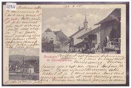 DISTRICT DE PAYERNE - CHAMPTAUROZ - B ( MINI PLI D'ANGLE ET LEGER GRATTAGE COIN HAUT DROIT ) - VD Vaud