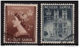 WESTERN SAMOA 1953 Coronation Omnibus - Very Fine Used - VFU 7B1259 - Samoa