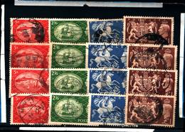 6629B) GRAN BRETAGNA 1951 Soggetti Diversi 4v USATI-UNA SERIE - 1902-1951 (Re)
