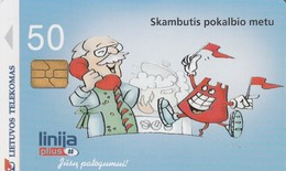 LITUANIA. CHIP. Call Waiting 2. LT-LTV-C060. (066). - Lituania