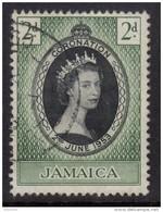 JAMAICA 1953 Coronation Omnibus - Very Fine Used - VFU - 7B1236 - Jamaica (1962-...)