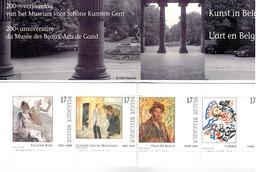 Postzegelboekje 200e Verjaardag Van Het Museum Voor Schone Kunsten Van Gent. - Feuilles Complètes