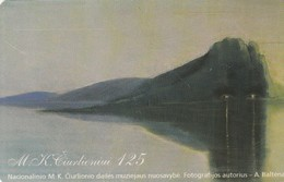 LITUANIA. CHIP. 125 Years To M.K. Ciurlionis. LT-LTV-C061. (088). - Lituania