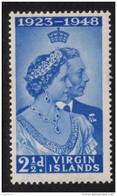 BRITISH VIRGIN ISLANDS 1948 Royal Silver Wedding Omnibus - Mint Never Hinged - MNH** - 6B926 - British Virgin Islands