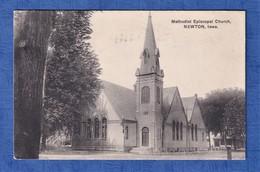 CPA - NEWTON , Iowa - Methodist Episcopal Church - Published By The Novelty Post Card Co. Kansas City - Etats-Unis