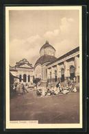 AK Calcutta, Kalighat Temple - Inde