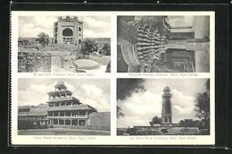 AK Fatehpur Sikri, Buland Gate, Panch Mahal, The Hiran Minar, Chausath Khumba - Indien