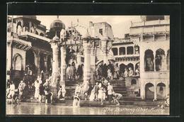 AK Muttra, The Bathing Ghat - Indien