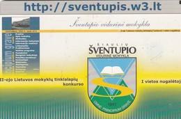 LITUANIA. Sventupis Blazon. LT-LTV-C087. (051). - Lituania