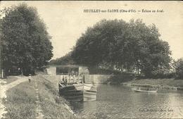 HEUILLEY Sur SAONE  -- écluse En Aval                                       -- Carrer ? - France