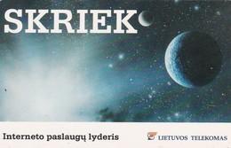 LITUANIA. ESPACIO. Skriek. LT-LTV-C110. (037). - Espacio