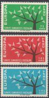 TURCHIA - 1962 - Serie Completa Di 3 Valori Nuovi MNH: Yvert 1627/1629, Quest'ultimo Privo Di Un Dentello. - Nuovi