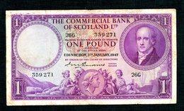 Ecosse Pound  1947 - [ 3] Scotland
