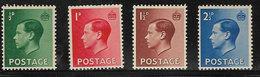 GB SG457-460 1936 Definitive Set 4v Complete Unmounted Mint [40/32647/25D] - 1902-1951 (Kings)