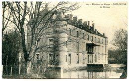 58220 COULOUTRE - Le Château - Environs De Cosne - Postée En 1916 - Autres Communes