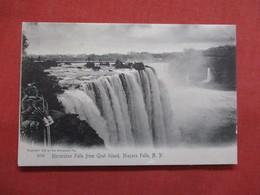 Rotograph  Horseshoe Falls From Goat Island  Niagara Falls New York ---ref    3549 - NY - New York