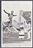 Germany REAL  PHOTO  JESSE  OWENS  (o)   OLYMPIC  GAMES  1936 - Summer 1936: Berlin