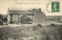CPA RIVA-BELLA - L'Hotel De La Plage Et Vue Sur La Mer (140666) - Riva Bella