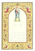Lettre De Voeux Avec Découpis ( Anges )  KONINGSHOOIKT 1954 (b257) - Engelen