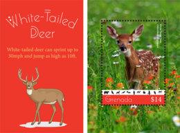 Grenada 2019 Fauna  White-tailed Deer  I201901 - Grenada (1974-...)