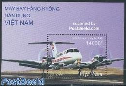 Vietnam 2002 Aeroplanes S/s, (Mint NH), Transport - Aircraft & Aviation - Airplanes