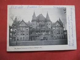 Baptist University For Women-- Has Center Crease   Raleigh  North Carolina >  >  -ref    3550 - Raleigh