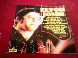 ELTON JOHN °°  LONDON & NEW YORK - Other - English Music