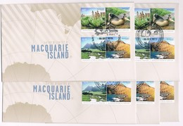 AUSTRALIAN ANTARCTIC TERRITORY (AAT) • 2010 • Macquarie Island • Base Cancel Set Of 5 Covers - Other