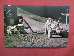 Apollo  15  Astronaut At Rover ----- -ref    3550 - Space
