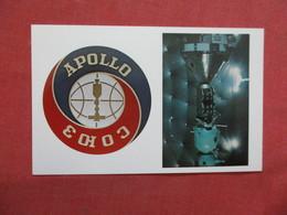 Apollo Soyus Test Project Official Emblem ------------- -ref    3550 - Space