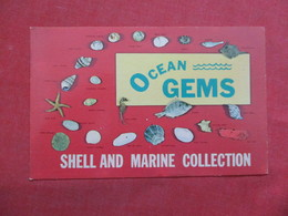 Ocean Gems  Shell & Marine Collection         Album Staining On Back ------- -ref    3550 - Other
