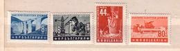 1953   Bulgarian-Russian Friendship  4v.-MNH  Bulgaria  / Bulgarie - 1945-59 Volksrepublik