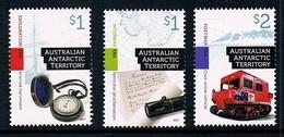 AUSTRALIAN ANTARCTIC TERRITORY (AAT) • 2017 • Cultural Heritage • MNH (3) - Unused Stamps