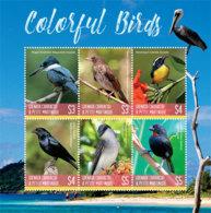 Grenada  Grenadines 2019  Fauna   Colorful Birds  I201901 - Grenada (1974-...)