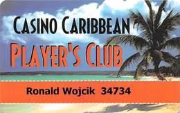 Casino Caribbean - Kirkland & Yamima, WA - Slot Card - Casinokarten