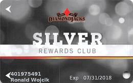 Diamond Jack's Casino Bossier City, LA - Slot Card - Copyright 2017 - Casino Cards