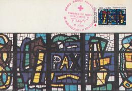 Carte  Maximum  1er  Jour  FRANCE     CROIX  ROUGE    AUDINCOURT  Et  ARGENTAN  1981 - Cartas Máxima
