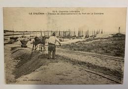 Circulée île D Oléron Travaux De Désensablement Du Port De La Cotiniére - Ile D'Oléron