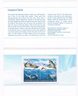 AUSTRALIAN ANTARCTIC TERRITORY • 2001 • LEOPARD SEALS • PRESENTATION PACK - Unused Stamps