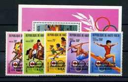 OBERVOLTA 1976 Nr 617-621 Postfrisch (112663) - Olympische Spiele