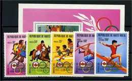 OBERVOLTA 1977 Nr 653-657 Postfrisch (112662) - Olympische Spiele