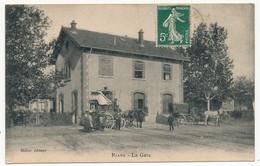 CPA - RIANS (Var) - La Gare - Rians