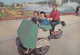 Bruxelles Exposition Universelle 1958 Cyclo Poussebaltour - Weltausstellungen