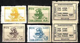 900 - PORTUGAL - ANGOLA - 1947- AIR MAIL ISSUE - FAUX, FORGERIES, FALSES, FALSCHEN, FAKES, FALSOS - Sellos