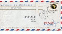 CONGO LETTRE A EN TETE POUR LA FRANCE 1965 - Congo - Brazzaville