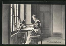 AK Lausanne, Asile Des Aveugles / Blindenheim, Impression En Braille - VD Vaud